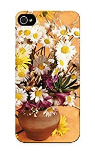 Awesome 8896a39582 Standinmyside Defender Tpu Hard Case Cover For Iphone 5/5s- Bouquets Camomiles Flowers Still Life