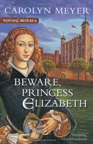Book cover for Beware, Princess Elizabeth