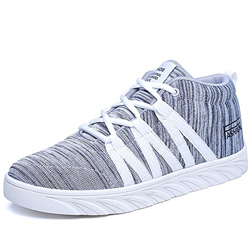0c352436b35 Women s Casual Shoes Platform Fashion Mid-Top Skate Sneakers 50%OFF ...