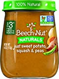 Beech-Nut Stage 3 Baby Food, Sweet Potato/Squash/Peas, 4 Ounce (Pack of 10)