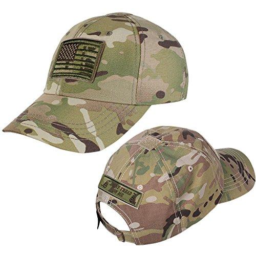 (Multicam Operator Cap Bundles - Multicam USA + Dont Tread On Me)