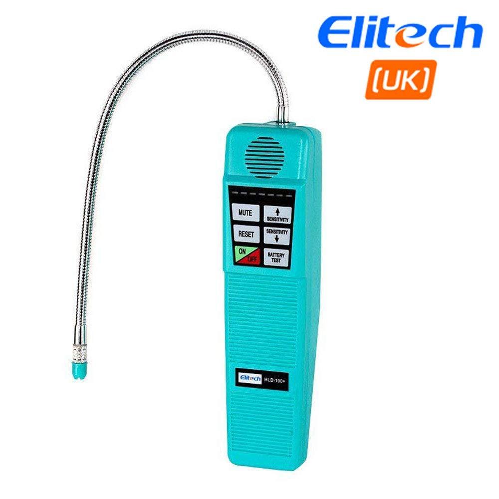 Detector de fugas de alta sensibilidad Elitech HLD-100+ Bombilla halógena