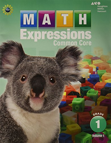 Math Expressions: Student Activity Book, Volume 1 (Softcover) Grade 1
