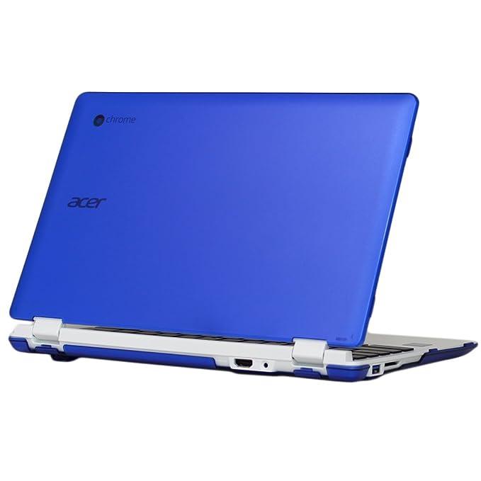 mCover peso ligero Dura Carcasa / fundas sólo para Acer CB3-111 11,6 pulgadas Chromebook - Azul