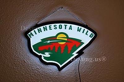 Desung.us® Revolutionary Minnesota Wild LED Neon Light Sign High Quality Design Decorate 3rd Generation Sign