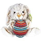 KINREX Bunny Rabbit Stuffed Animal Plush Toy Baby, Boys, Girls - Measures 11.81 Inches Tall / 30 cm.