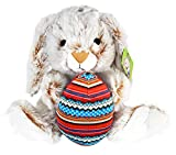 KINREX Bunny Rabbit Plush - Large and Soft Toy - 11.81 inches - Great Easter Basket Stuffers - Gift for Boys, Girls, Teens, Toddlers and Babies.