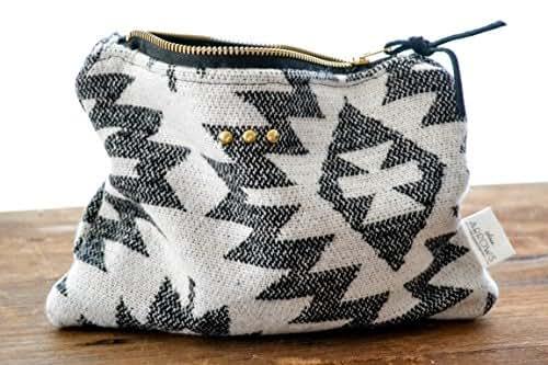 Zipper Pouch | Southwest Aztec | Toiletry Bag | Cosmetic Bag | Makeup Pouch | Travel Pouch | Makeup Bag | Accessories Bag | Toiletry Storage
