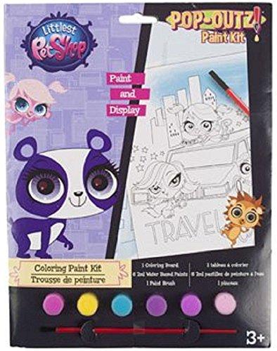 Littlest Pet Shop Pop-Outz Paint (Pet Shop Kit)