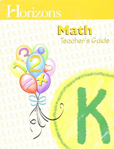 Horizons Math Kindergarten
