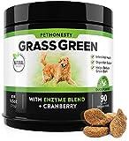Best Dog Urine Neutralizers - PetHonesty GrassGreen Grass Burn Spot Chews for Dogs Review