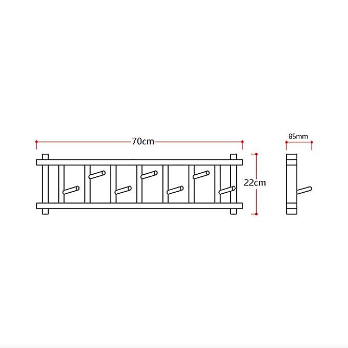 Amazon.com: lff- recámara porche perchero de pared estilo ...