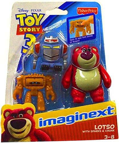 a15aaaeaae14b Imaginext Disney   Pixar Toy Story 3 Figure Lotso with Sparks   Chunk