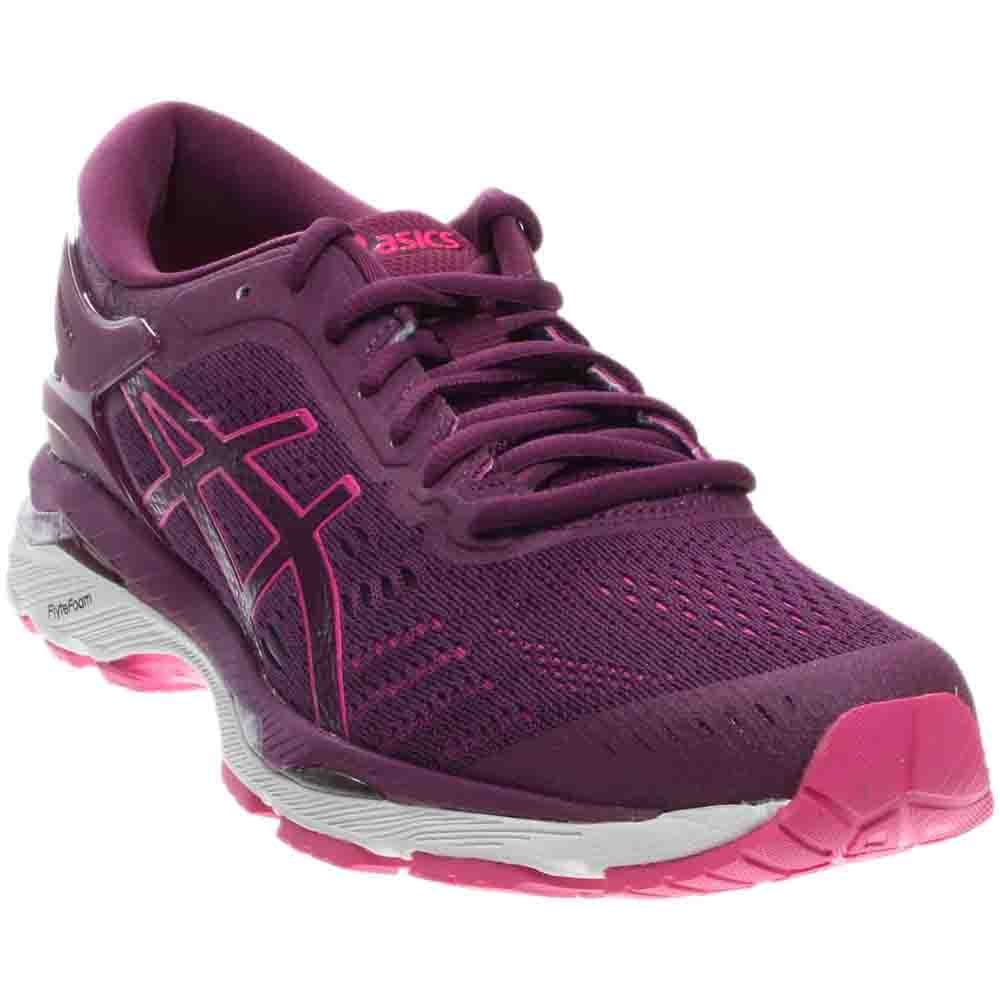 ASICS Women's Gel-Kayano 24 Running Shoe B01N3PJO9D 8.5 B(M) US|Prune/Pink Glow/White