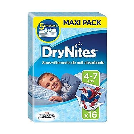 Huggies Drynites 4 7 Ans Garçon 17 30 Kg Sous Vêtements De Nuit