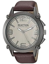 Kenneth Cole REACTION Men's 10030947 Sport Analog Display Japanese Quartz Brown Watch