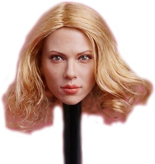 HiPlay 1//6 Scale Female Figure Head Sculpt TBLeague DH008 Beauty Charming Girl Doll Head for 12 Action Figure Phicen