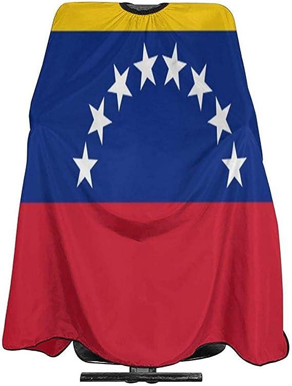 Capa De Peluquería Bandera De Venezuela Corte De Pelo Capa ...