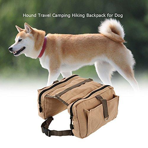Lixada Hound Travel Camping Hiking Backpack Saddle Bag Rucksack Dog Pack for Medium or Large Dog by Lixada (Image #5)