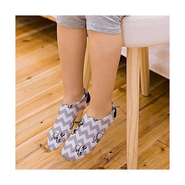 Clumber Spaniel Dog Gray Zigzag Pattern Unisex Toddler Baby Ankle Socks Funny Novelty Kids Socks Polyester & Polyester Blend - Single 3