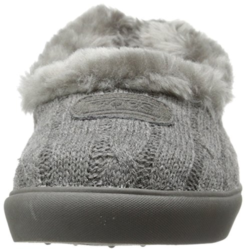 Knit Snuggle from BOBS Womens Mad In Crush Slipper Skechers Charcoal WzXXqr7