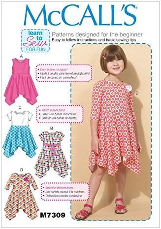 McCalls patrones de costura para ropa de descanso para niñas fácil ...