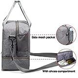 HOKEMP Gym Bag For Women Men Sport Duffel Bag with