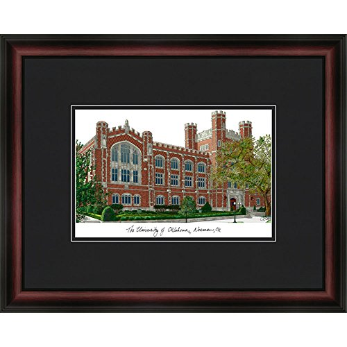 (Oklahoma State University Academic Framed Lithograph)