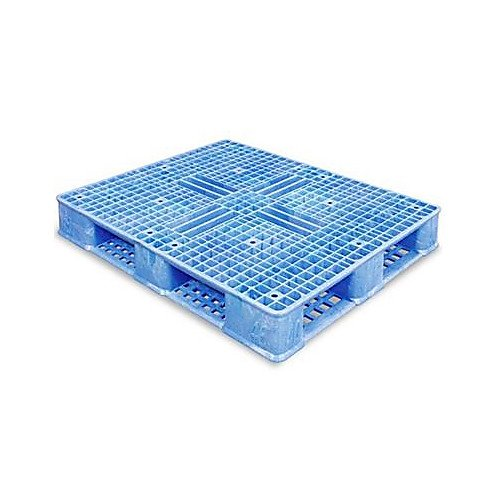 Uline H-1212BLU Rackable Pallet, 40'' Width, 48'' Length, Plastic, Blue by ULINE