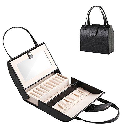 J.Rosée Jewelry Case Organizer Portable Vintag...