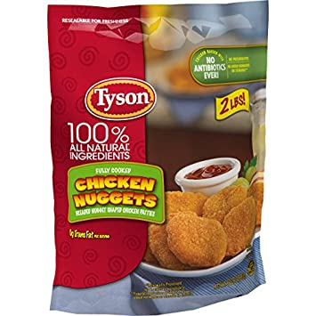 Tyson Fully Cooked Chicken Nuggets 32 Oz Frozen Amazon