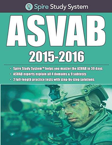 Spire Study System: ASVAB Study Guide 2015-2016