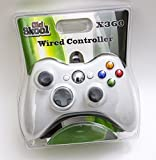 xbox 360 old console - Old Skool Wired USB Controller for PC & Xbox 360 - White