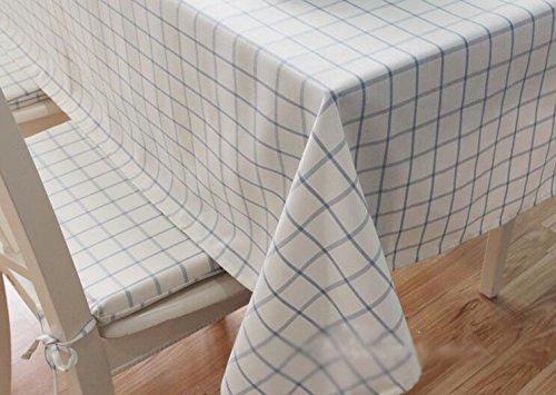 SCLOTHS Nappe en Coton Classique Simple décoration de Table de Salle à Manger 140  240cm