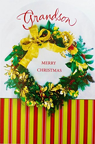 Grandson - Merry Christmas Greeting Card -