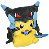 Generic Pikazard Pikachu Mega Charizard X Cloak Pokemon Plush Toy Stuffed Animal Soft Doll Figure 8""