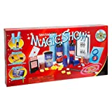 Ideal Spectacular 100-Trick Magic Show is the ultimate set for the aspiring magician. Filled with many easy-to-learn tricks and high quality props. This set will teach children to perform the same tricks as professional magicians such as the disappea...