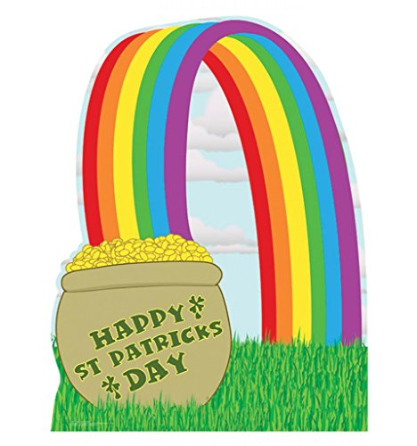 Rainbow Pot Of Gold (Pot of Gold - Advanced Graphics Life Size Cardboard Standup)