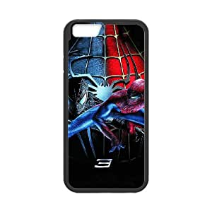 Generic hard plastic Spider-Man Cell Phone Case for iPhone 6 6S 4.7 inch Black ABC8353819
