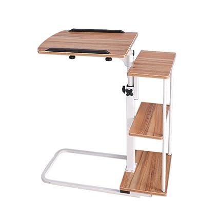 Mesa móvil, Mesa de Ordenador portátil Sencilla y Perezosa - Mesa elevadora de Paneles de