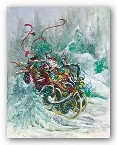 Peggy Abrams – Juguetes barridos por el viento Artistica di Stampa (15,24 x 20,32 cm)