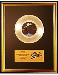 Michael Jackson Beat It 45 Platinum Record Award Epic Records