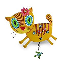 Kimi Kitty Clock Allen Studio Designs