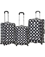 Rockland Fusion 3 Piece Luggage Set