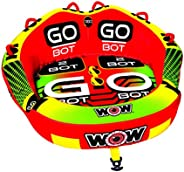 WOW Watersports 18-1040 Go Bot Series Towables - 2 Person Rider