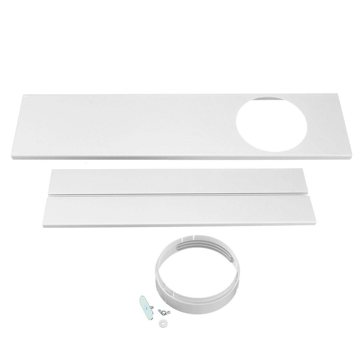 2Pcs 120CM Window Slide Kit Plate for Portable Air Conditioner ...