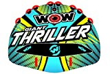 WoW Watersports 18-1030 Giant Thriller Deck Tube, 1 to 4 Person Towable