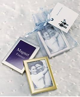 magnet back mini photo frames pack of 3 style 8056 - Mini Gold Frames