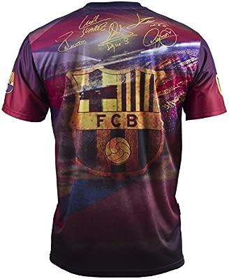 Fc Barcelone Conjunto Camiseta + Short Messi Suárez Neymar piqué Iniesta – Colección Oficial Talla de Niño