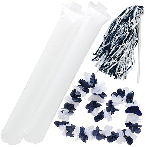 Navy Blue and White Fan Spirit (Spirit Of Enthusiasm)